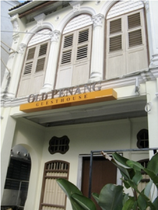 Old Penang Guesthouse Entrance