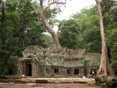 Ta Prohm from afar