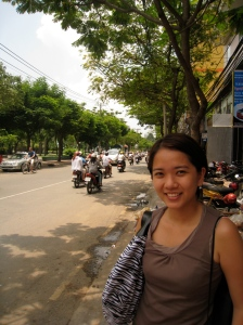 snap taken at Pham Ngu Lao