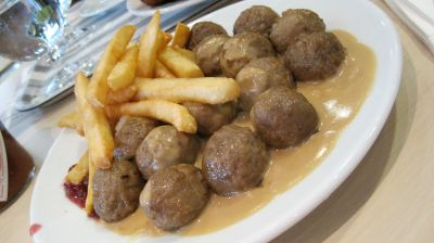 world famous Swedish Meatballs