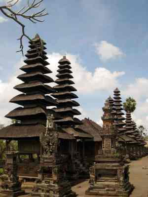 sample of Balinese architecture in Taman Ayun