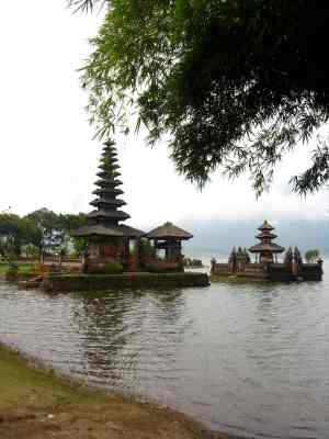 Ulun Danu Temple in Bedugul
