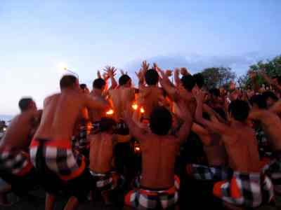 the most important characters in the Kecak Dance