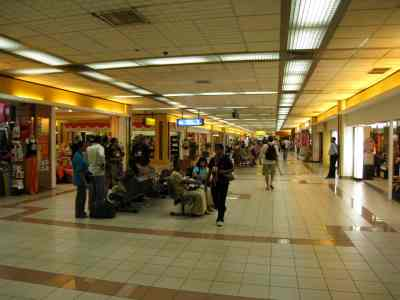 inside the Ngurah Rai International Airport