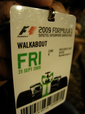 Friday Walkabout Ticket